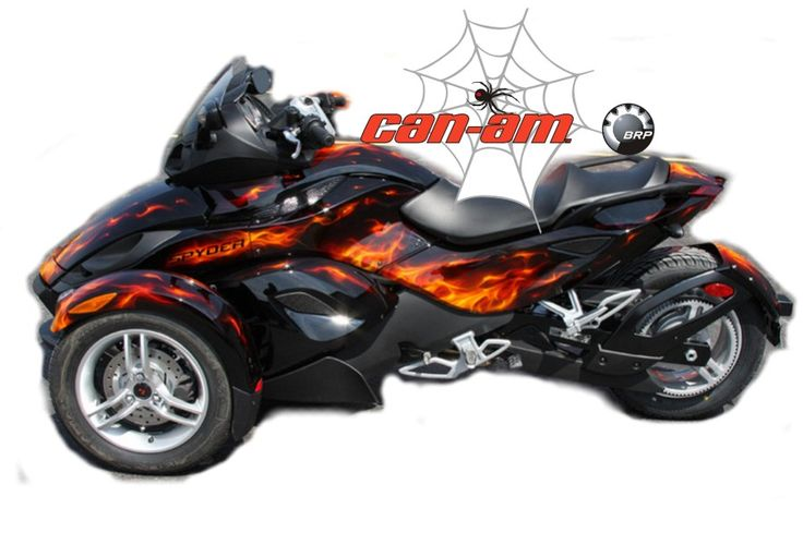 Can Am Spyder Vinyl Wrap Brp Motorcycle Decal Kits