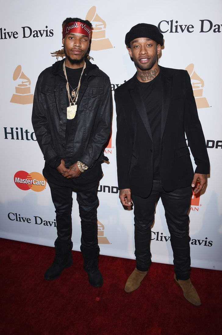 Pin for Later: Les Stars de la Musique S'éclatent à L'approche des Grammy Awards Fetty Wap et Ty Dolla Sign