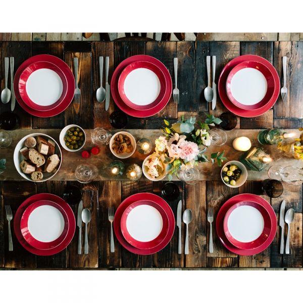 De nieuwste kleur Tric Amarena Arzberg heeft een prachtige warmrode kleur - | Marlie & Felice