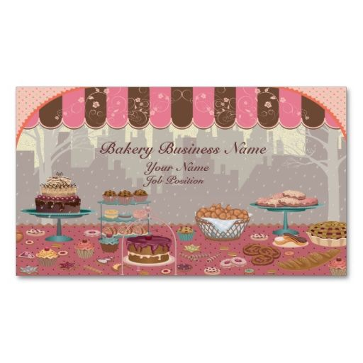 The 214 best designs images on pinterest business cards logo bakery business shop business card reheart Image collections