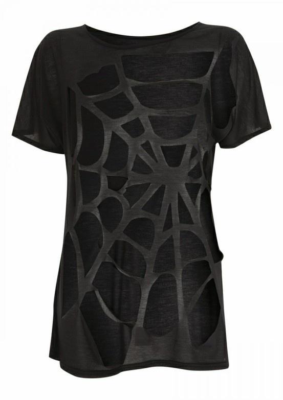 Spiderweb Cut Shirt