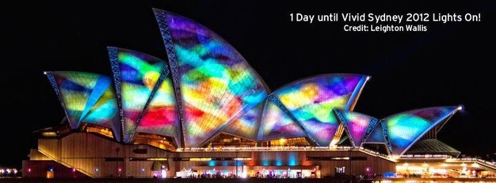 Vivid Sydney. Opera House.
