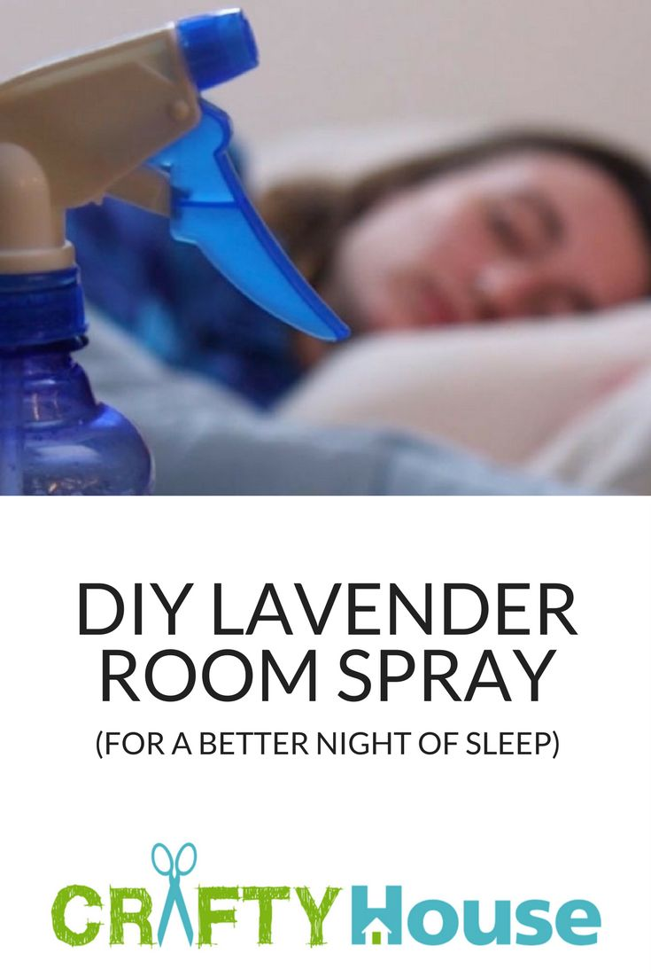 DIY Lavender Room Spray