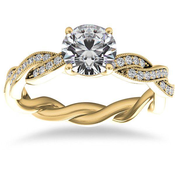 Best 25 Infinity ring engagement ideas on Pinterest