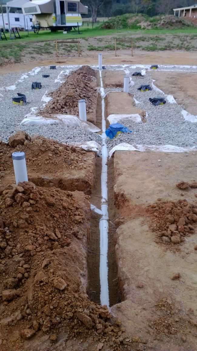Rubble Trench Foundation  With Images