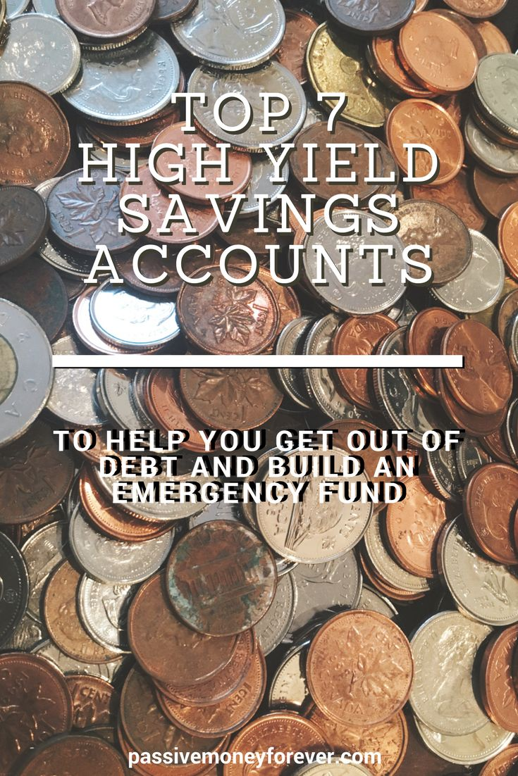 Best High Yield Savings Accounts of 2018.  Check them out!  If you aren't making at least 1.35% for savings, you are leaving money on the table.  #savings #makemoney #getoufofdebt #debtfree #daveramsey #debtsnowballl #