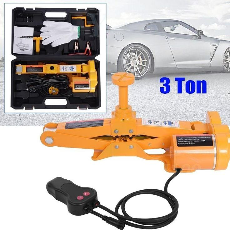 2/3 Ton Electric Trolley Floor Jack 3T Axle Stand Car Van
