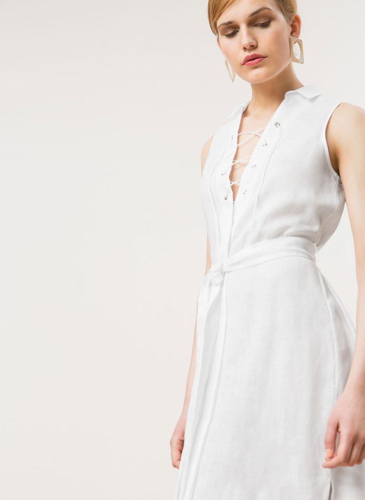 Vestido de lino - Ver todo - Última semana - Uterqüe España