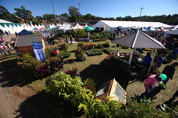 Some of the many varied goods on offer at the 2011 QLD Garden Expo