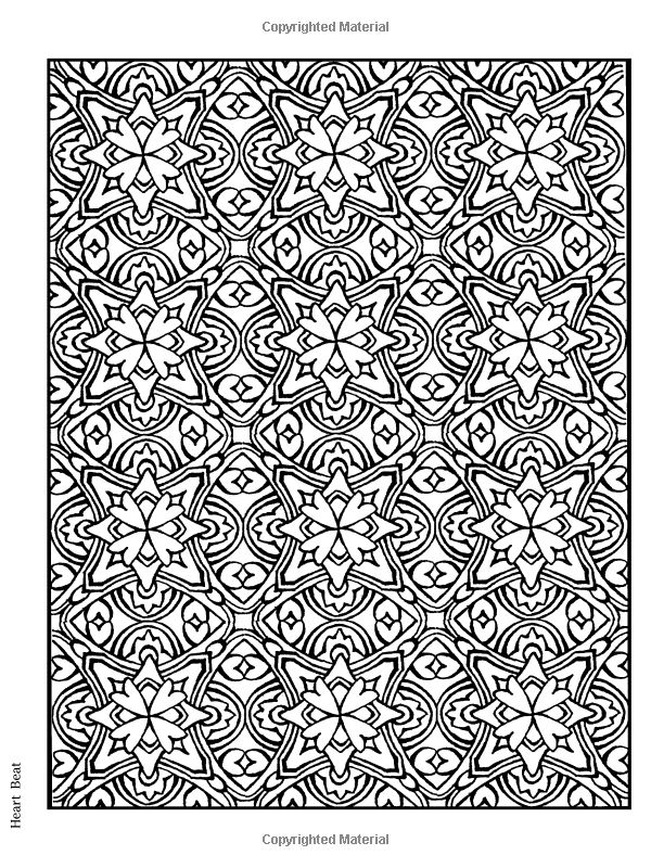 creative designs coloring pages | Creative Haven Lotus Designs Coloring Book (Creative Haven ...