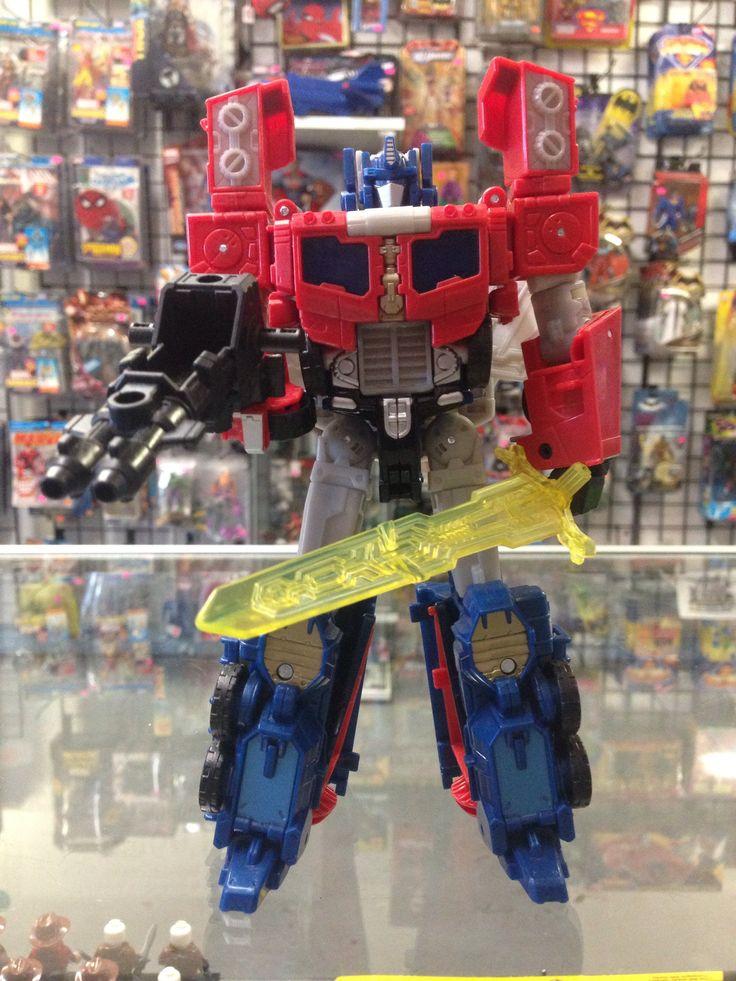 Hasbro Transformers Titans Return Diac And Optimus Prime