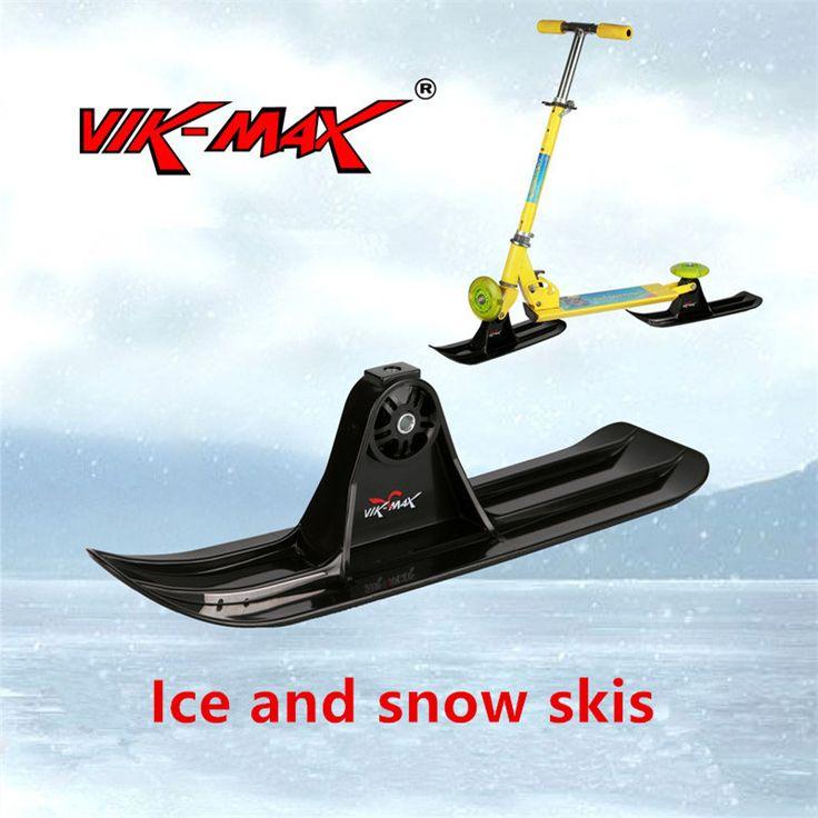 Es dan salju sled dengan pisau logam di bagian bawah Ski aksesoris Trineo XQ16