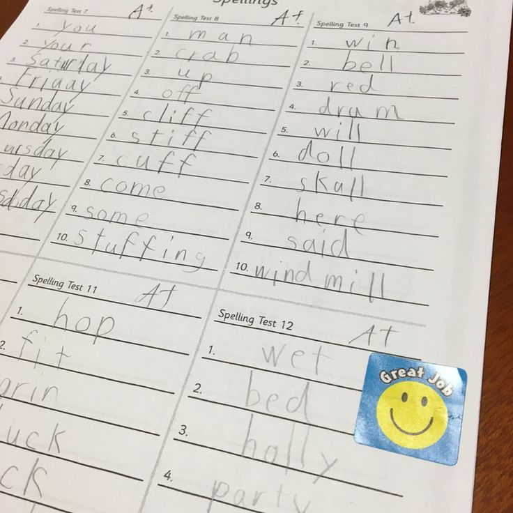テスト嫌い?いえ、子ども達はジョリーグラマーのテスト大好きです。暗記ではなくフォニックスの知識を使って。
