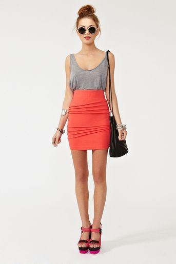 Patti Pleated Skirt