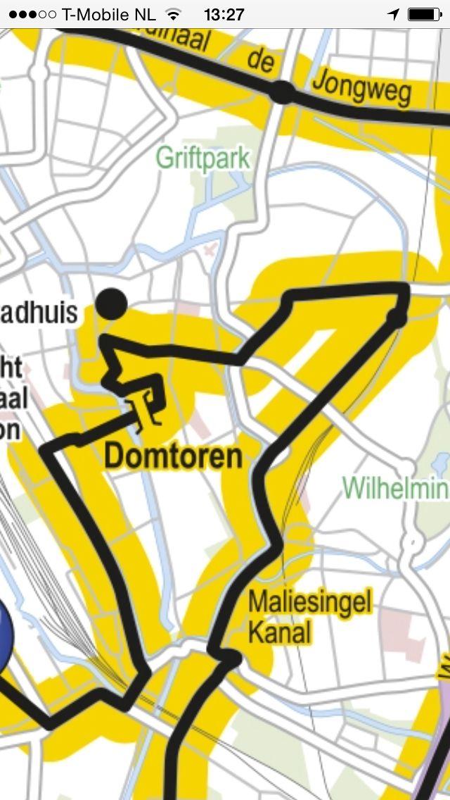 Yellow Tour de France #granddepart in Utrecht