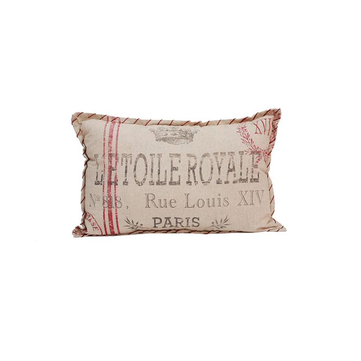 L'etoile Royale rectangle cushion