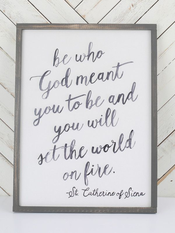 Set The World On Fire Wall Art - Signs & Wall Art - Gifts/Home Decor