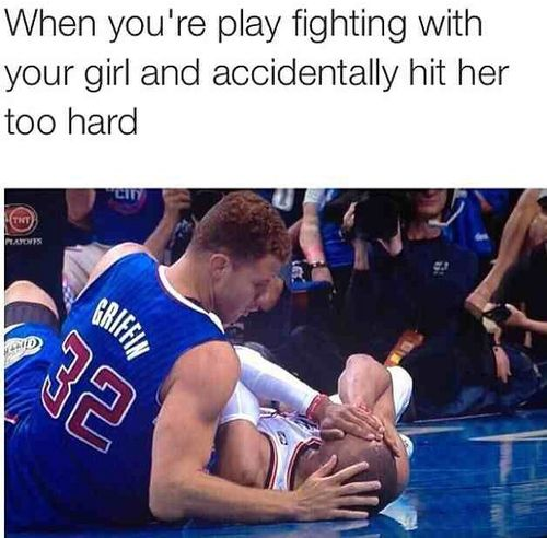this was me cause we was play fighting in ms brown class and he made me hit my head @ayannascurry001 i was mad asab lmao