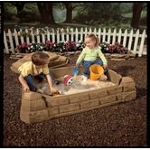 Excellent for our small back yard and can be used as a planter after the kids are too big for sand boxes