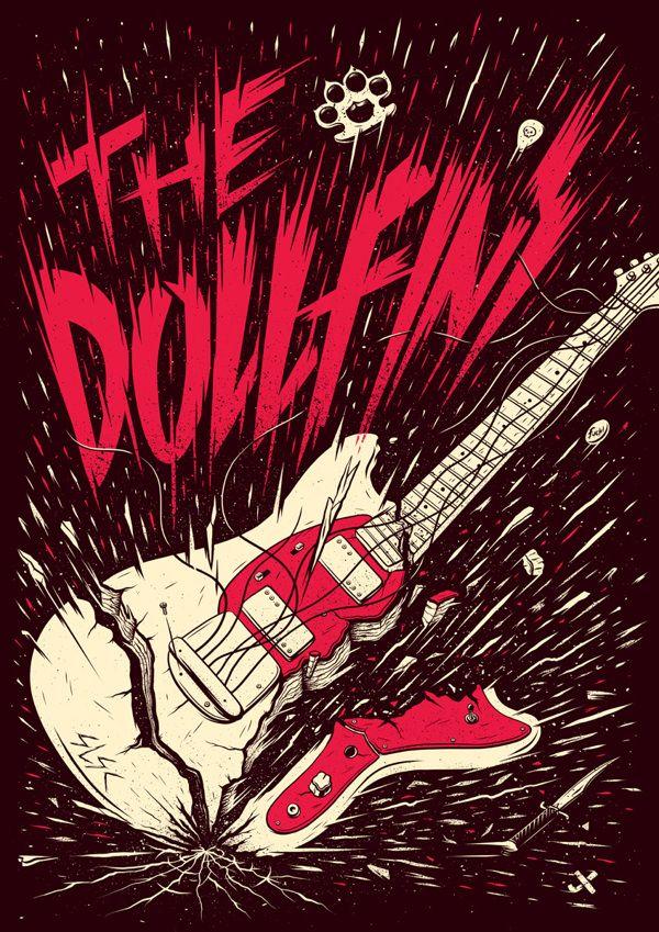 The Dollfins Poster - Case Study | Abduzeedo Design Inspiration