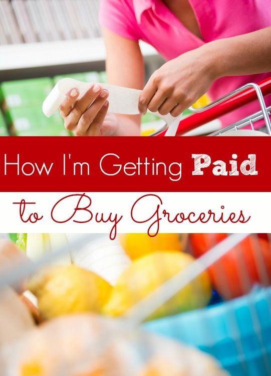 How to Get Paid for Buying Groceries - Groceries are super expensive in today's economy. That's why I love the way that I shop! I'm getting PAID to buy my groceries and now? I'm going to show you how to do it too!