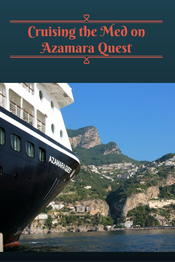 With less than 700 guests, cruising on Azamara Quest is like staying in a boutique hotel. One that can cruise around the hottest spots in the Mediterranean.