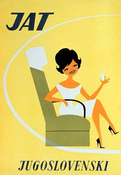 JAT ad 1960s