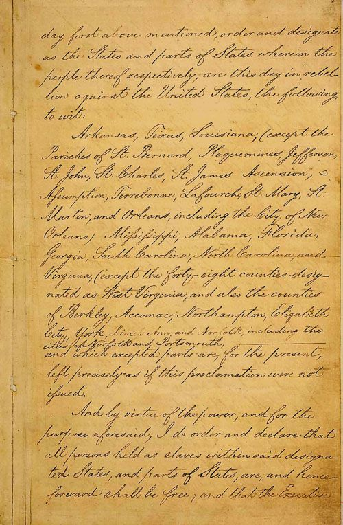 Why Was the Emancipation Proclamation Important?