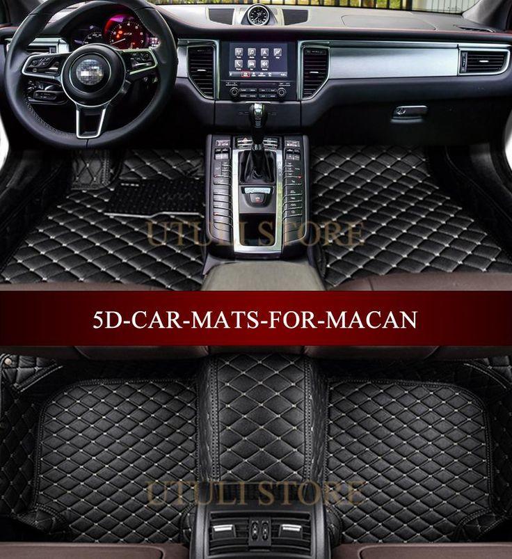 Car floor mats for Porsche Macan 2014-2017 3D custom fit car styling all weather…