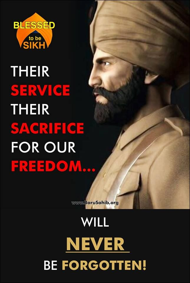 """#PictureOftheDay Their SERVICE Their Sacrifice for our Freedom Will never be FORGOTTEN! Commemorating Anzac Day 2016, """"Lest we forget"""" the 15,000 + Indians who fought & contributed in Gallipoli #WW1. Australia recalls #Sikh soldiers who fought in Gallipoli WW1. But anyone hardly knows them in India is quite unfortunate. The spirit of Anzac Day has such solemn significance to New Zealanders and Australians and also deep Indian connection to Sikh community.  Share & Spread let the…"""