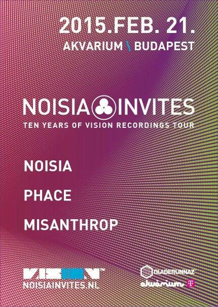 Noisia Invites
