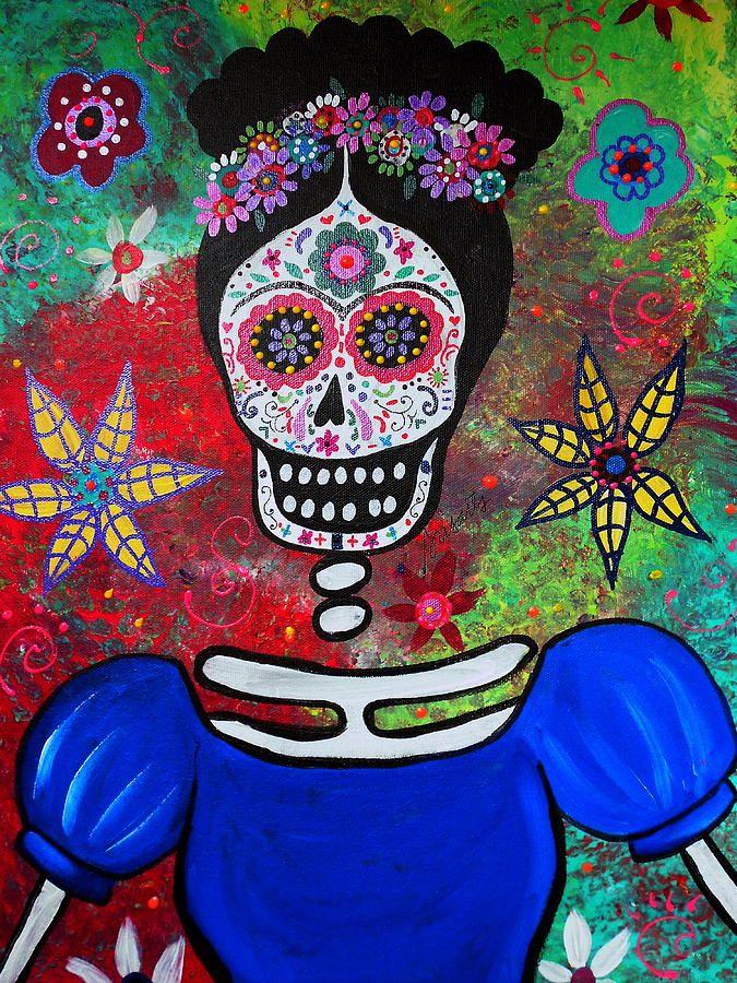 Frida Kahlo Painting  - Frida Kahlo
