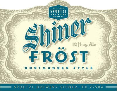 Frost, beer, packaging