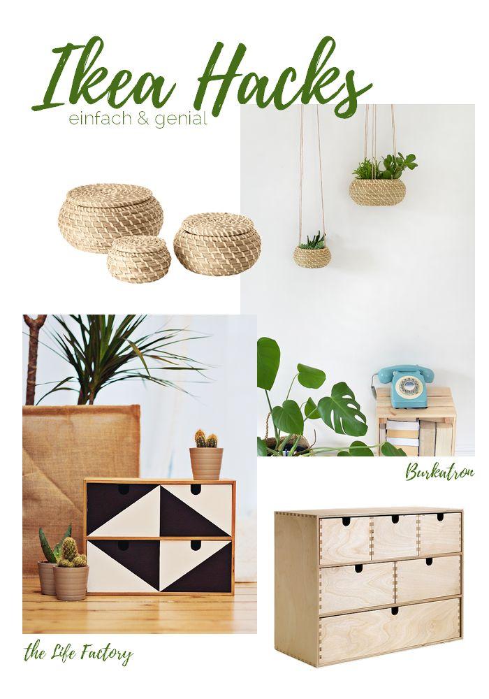 sieben weitere genial einfache IKEA Hacks für die ganze Wohnung die schnell nachgemacht sund zeig ich euch in meinem Post.