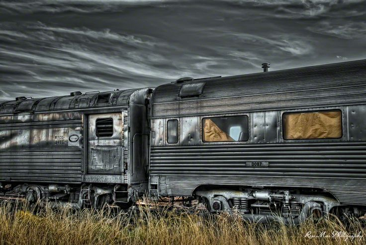 Abandoned Train Graveyard, Clarkdale, Arizona