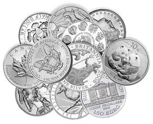 Ounces of Silver: Silver Bullion Coins from Around the World