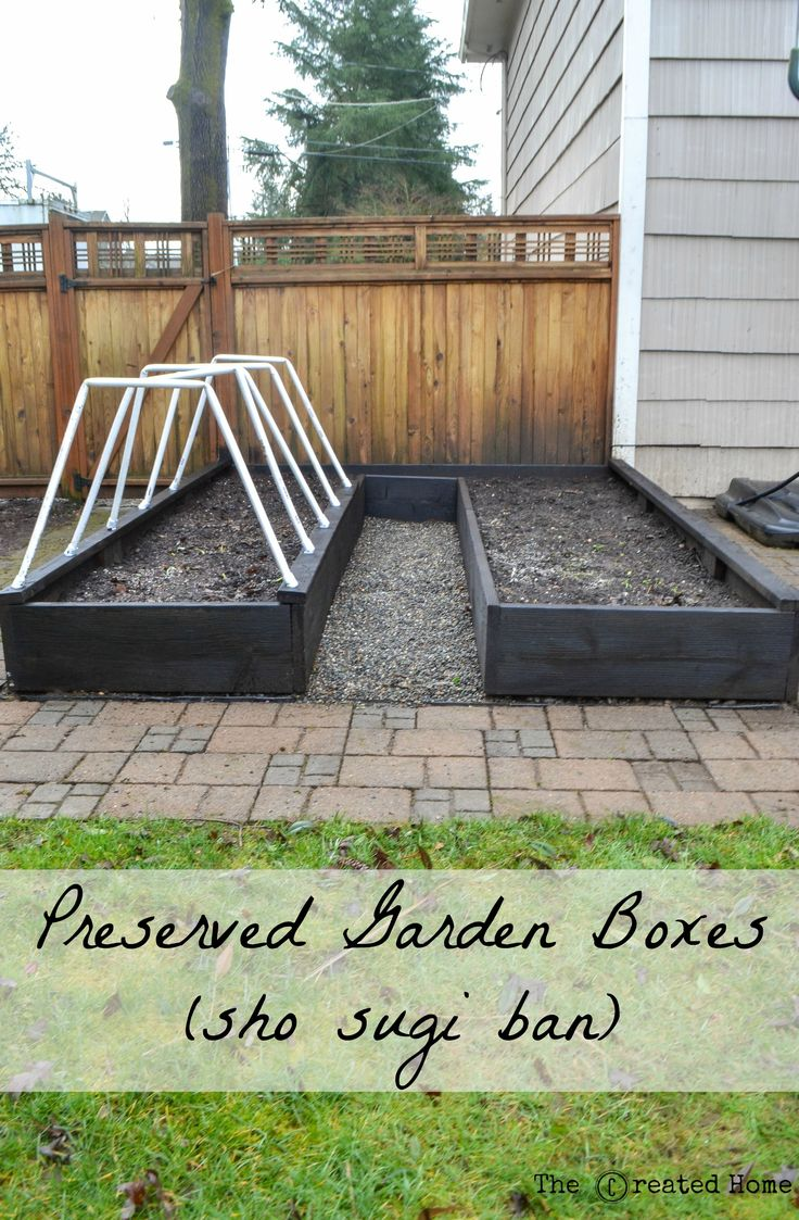 Massively expand the life of your garden boxes by using this easy (and fun!) preservation method.