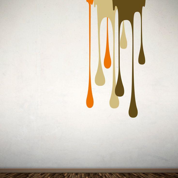Paint Vinyl för vägg eller dörr. Kombinera med flera olika färger.