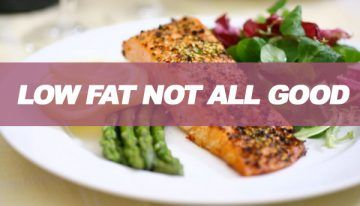 Your low fat diet may be bad for your health. #HealthTips  #HealthAdvice #Dieting