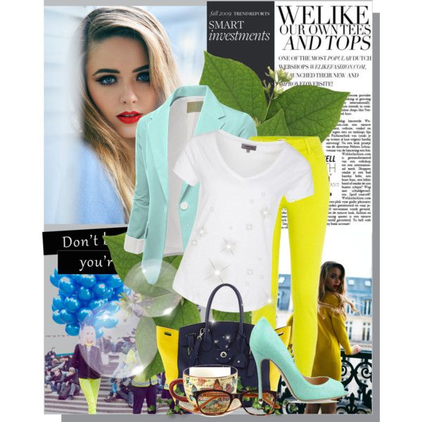 """""""Calm Neon Works..."""" by sarahisfashion on Polyvore"""