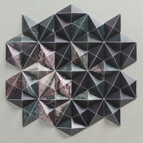 Aleatoric Composition 2 by Matthew Shlian and Michael Cina | Art | The Ghostly Store