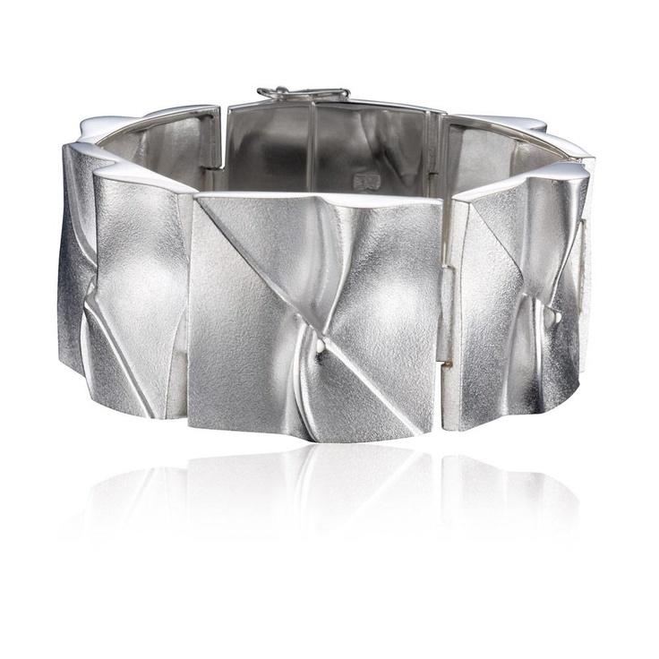 BRIDGE TO THE MOON  Design Björn Weckström / Silver Bracelet / Lapponia Jewelry / Handmade in Helsinki