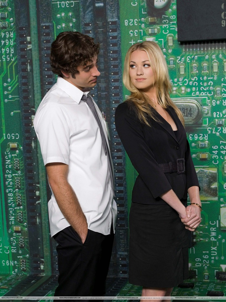 Zachary Levi, Yvonne Strahovski - Chuck Promo Season 1 // I just finished the series on Netflix, and all I can say is: I. CRIED. I don't usually cry over tv shows, but I cried.