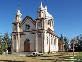 Devon, Alberta, Canada;  Holy Trinity Ukrainian Catholic Church