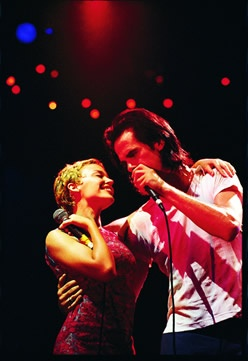 Kylie Minogue & Nick Cave at 1996 Big Day Out - Tony Mott Photography