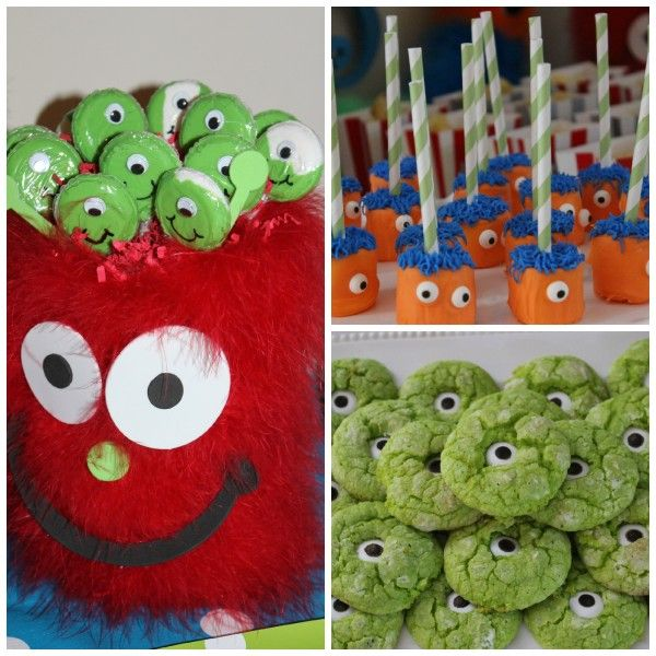 Cute monster party food ideas!