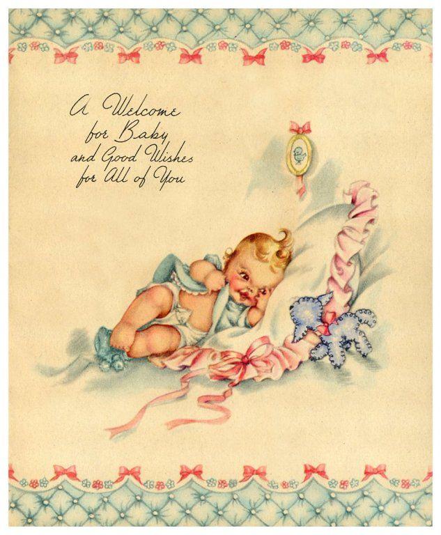 Как красиво подписать открытку с новорожденным