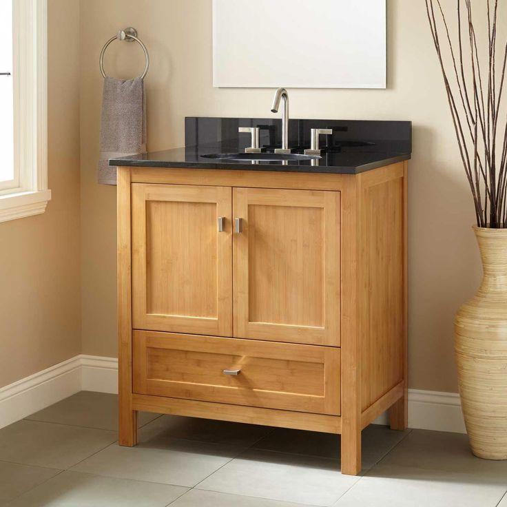 bamboo bathroom accessories ikea | Bathroom sink vanity ...