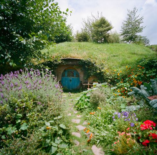 If I can't live in the trees a cosy underground home would be my second choice.