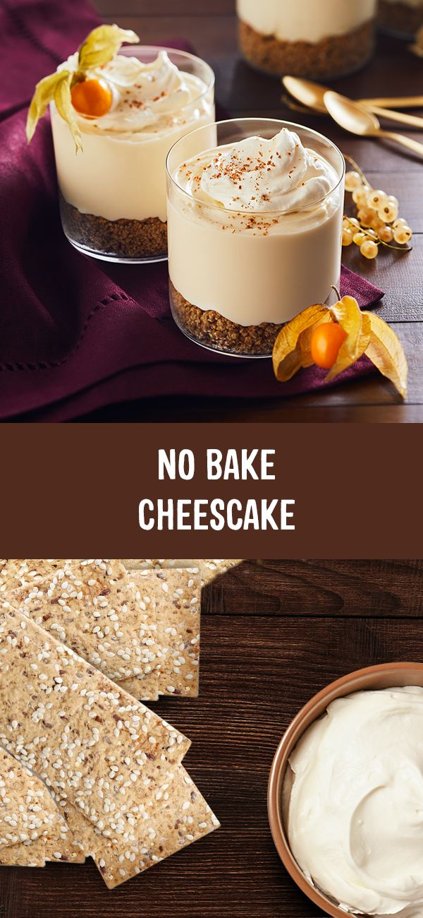 No Bake Cheesecake? What a time to be alive! Try it with our Lavash cracker crust!